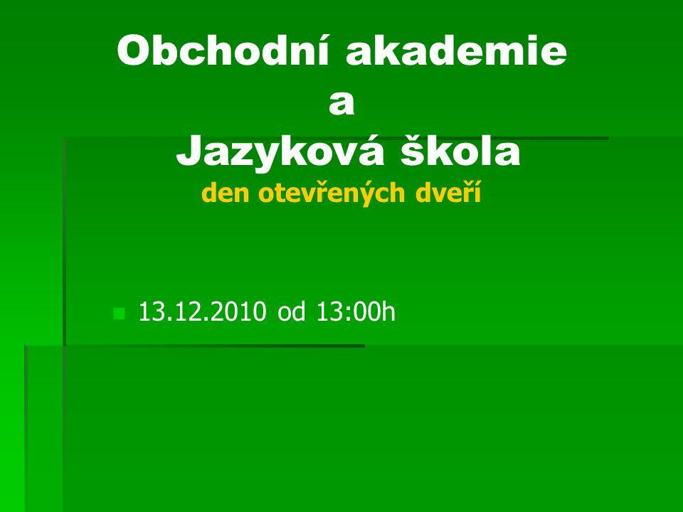 Jazyková škola den otevřených dveří
