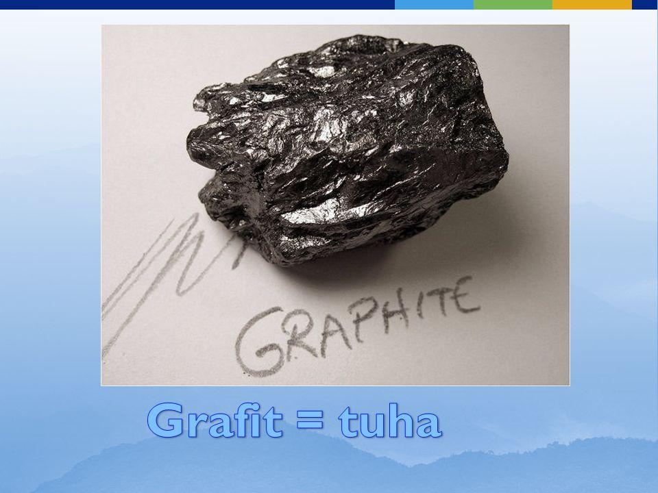 Grafit = tuha