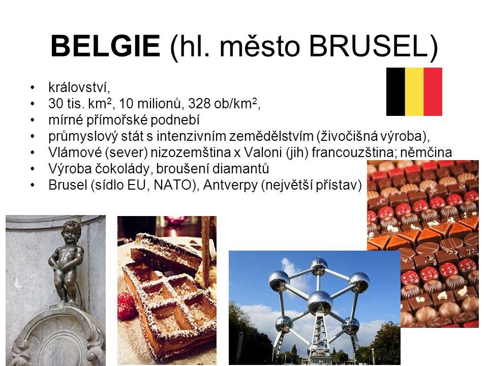 BELGIE (hl. město BRUSEL)