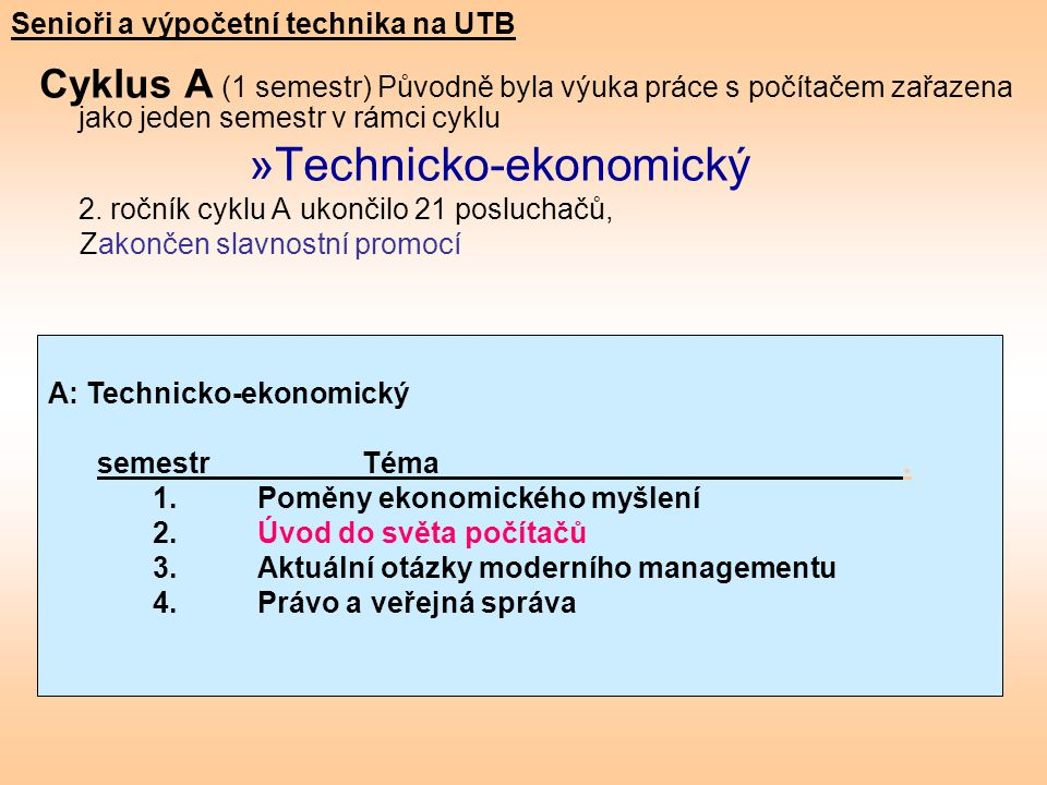 Technicko-ekonomický