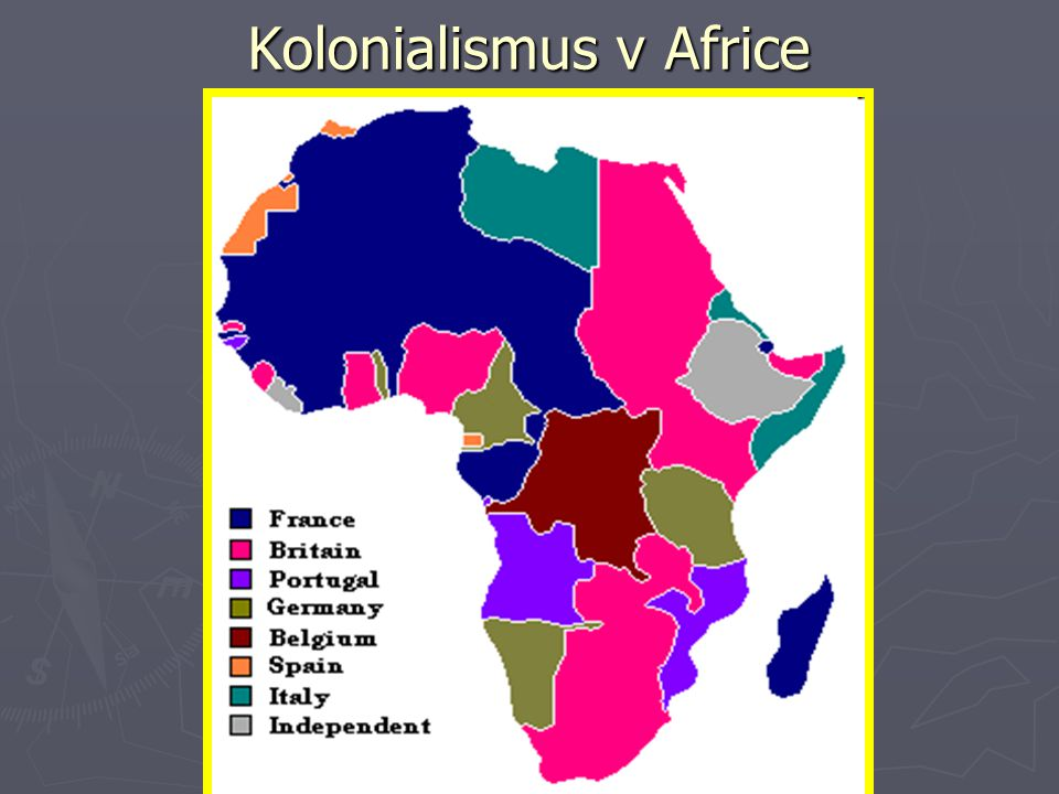 Kolonialismus v Africe