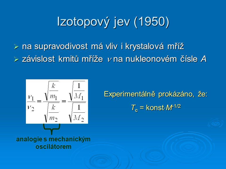 analogie s mechanickým oscilátorem