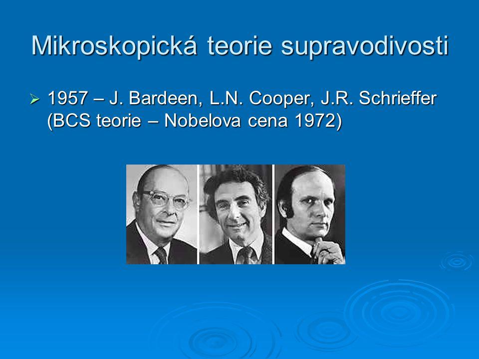 Mikroskopická teorie supravodivosti