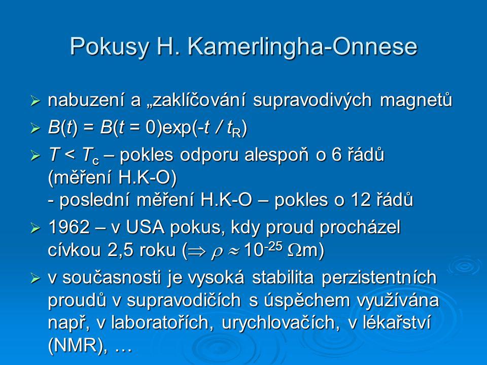 Pokusy H. Kamerlingha-Onnese
