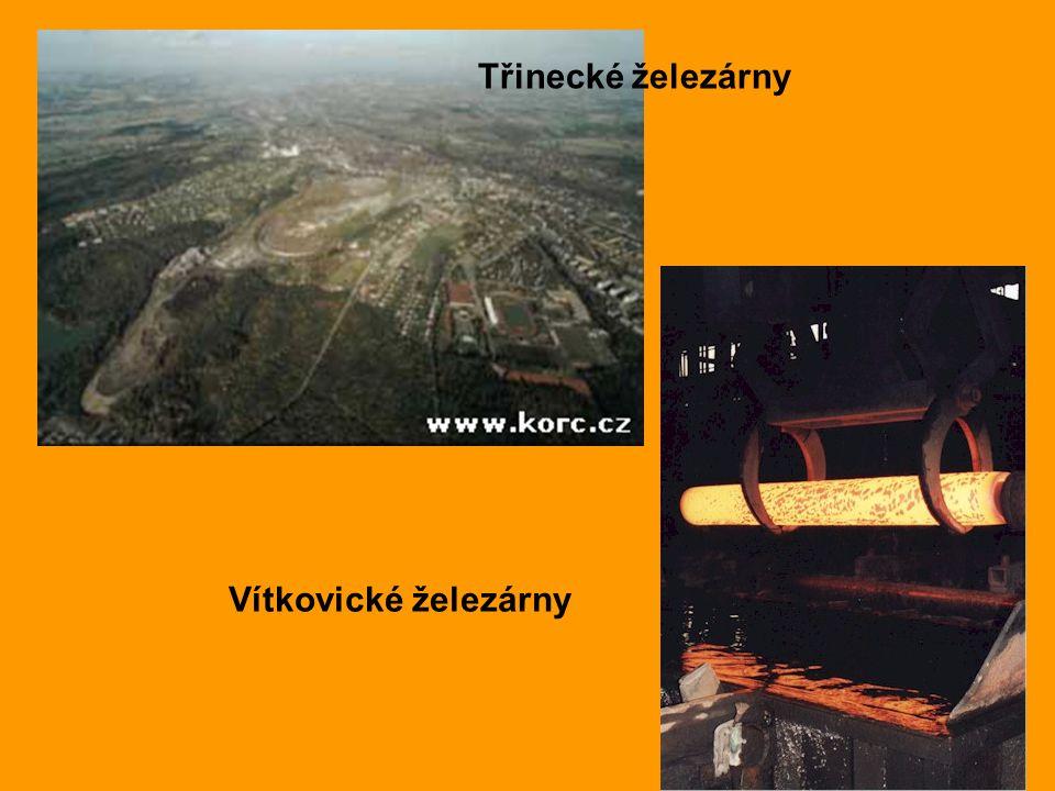 Třinecké železárny Vítkovické železárny