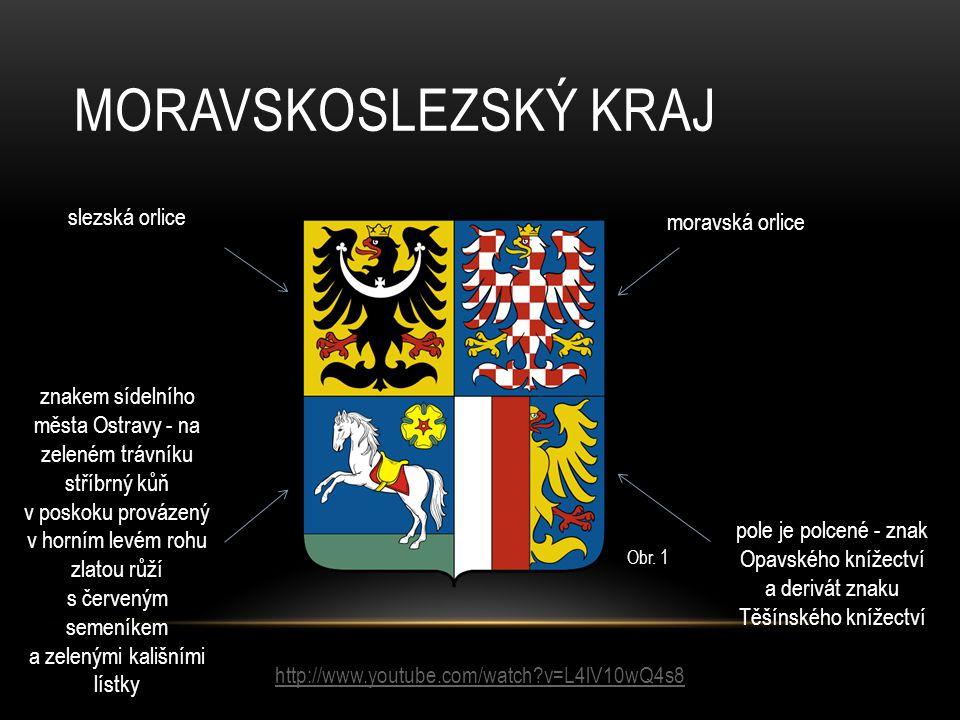 Moravskoslezský kraj slezská orlice moravská orlice