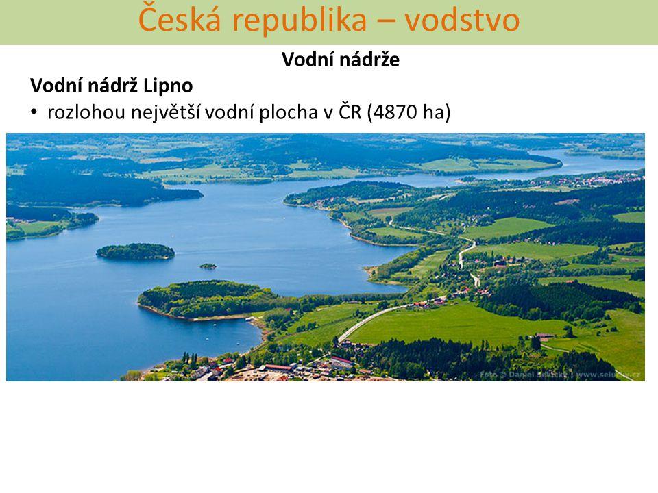 Česká republika – vodstvo