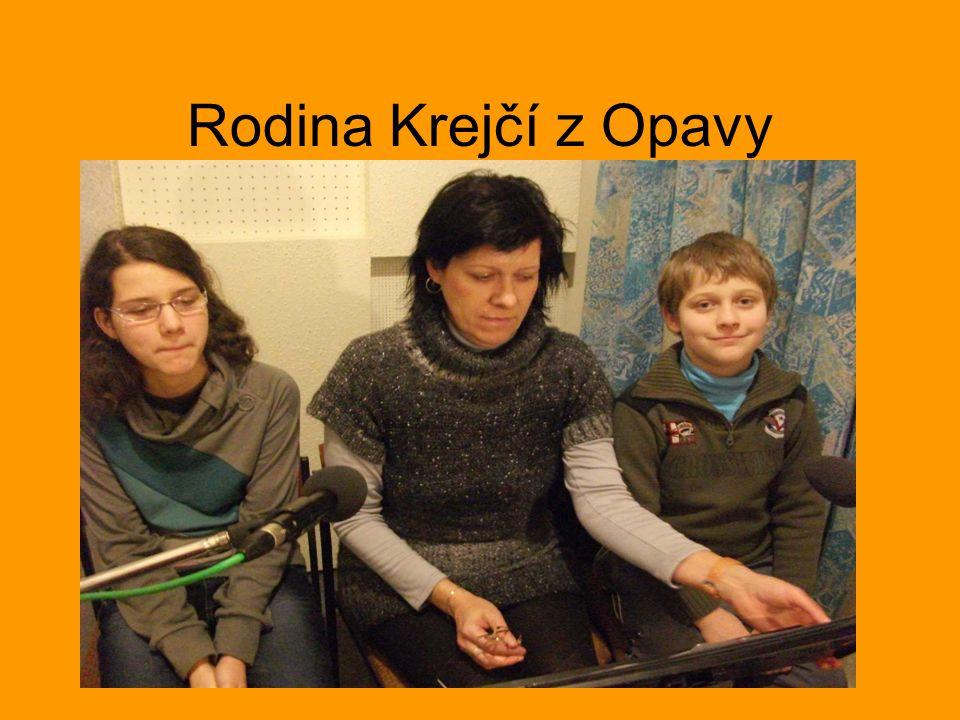 Rodina Krejčí z Opavy