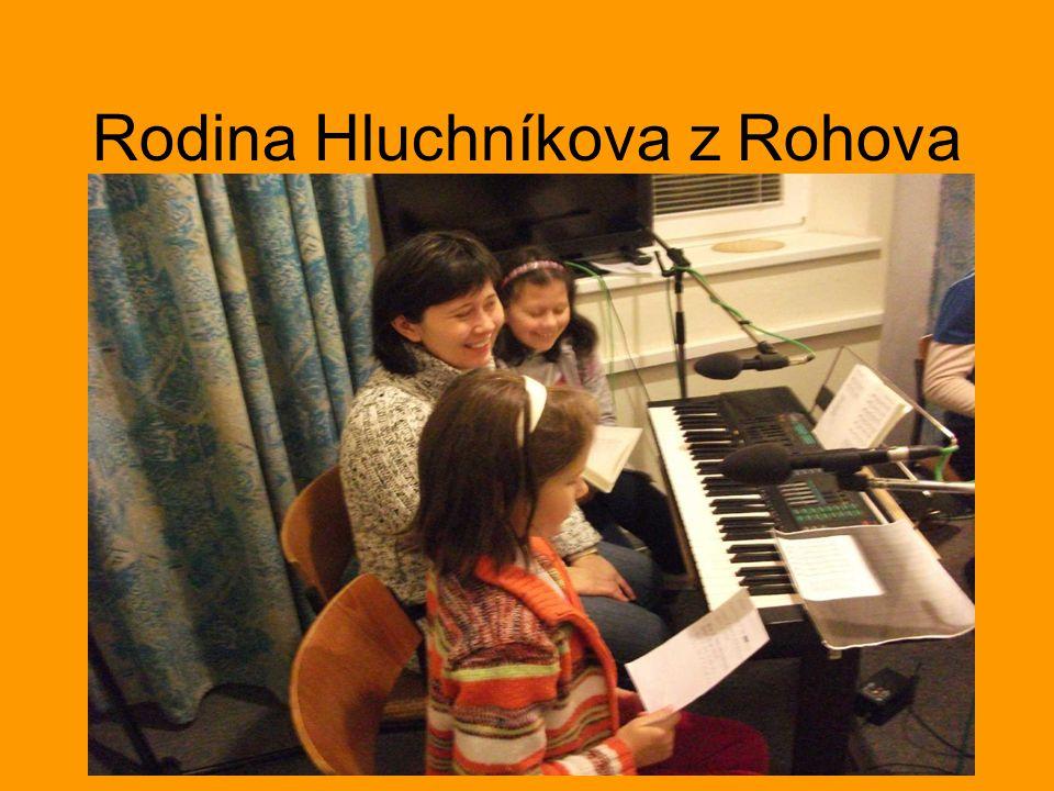 Rodina Hluchníkova z Rohova