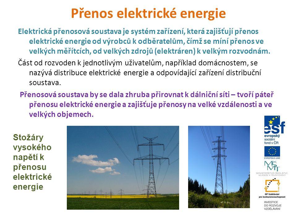 Přenos elektrické energie