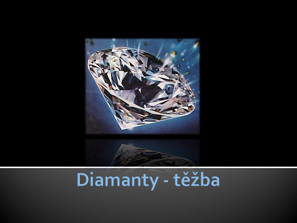 Diamanty - těžba
