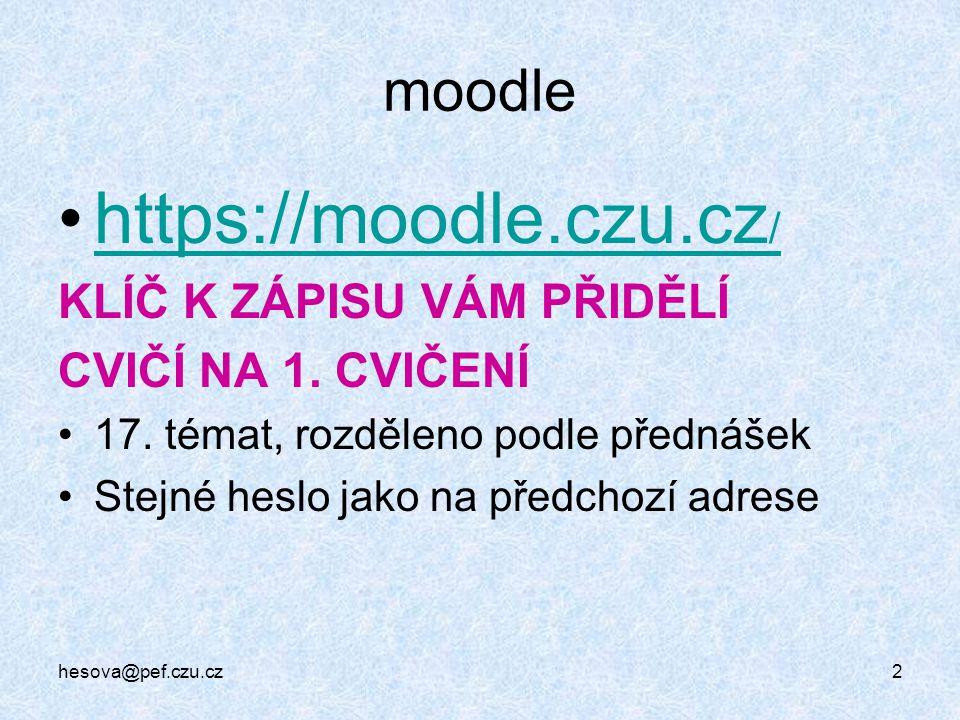 https://moodle.czu.cz/