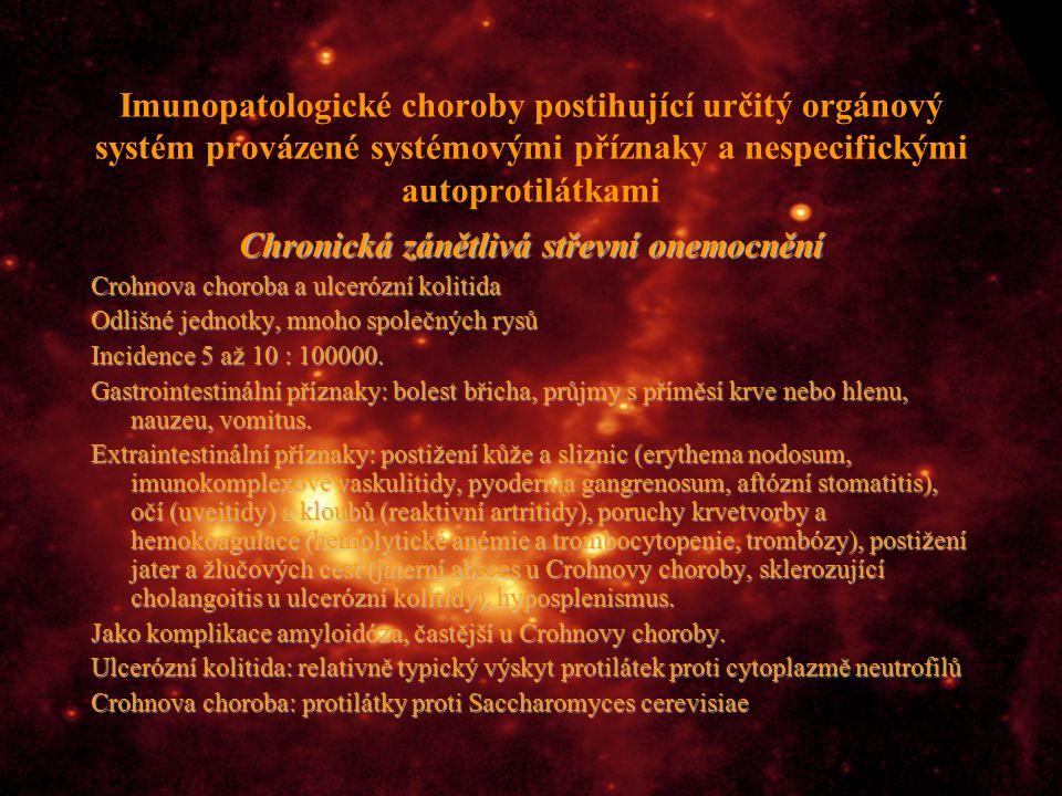Chronická zánětlivá střevní onemocnění