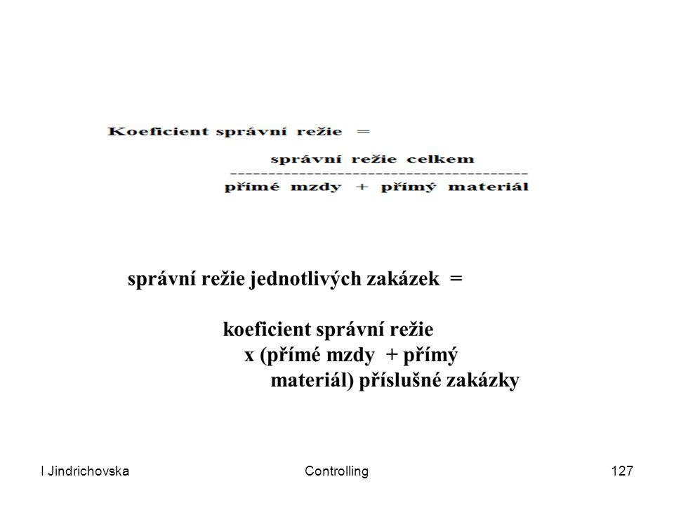 I Jindrichovska Controlling