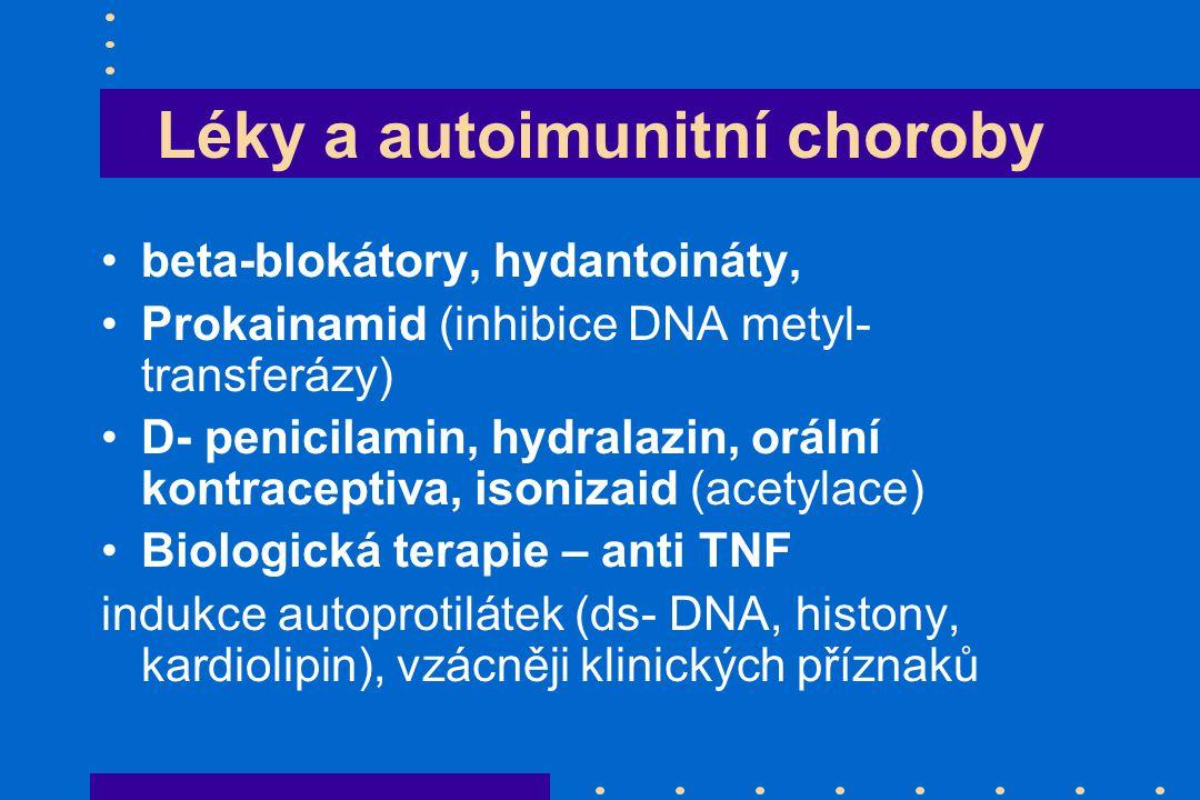 Léky a autoimunitní choroby