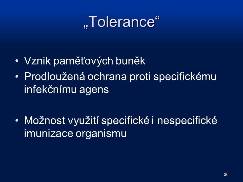 """""""Tolerance Vznik paměťových buněk"""