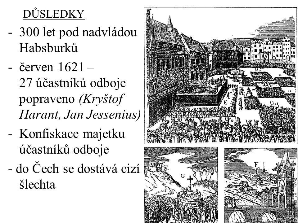 300 let pod nadvládou Habsburků