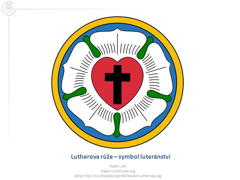 Lutherova růže – symbol luteránství