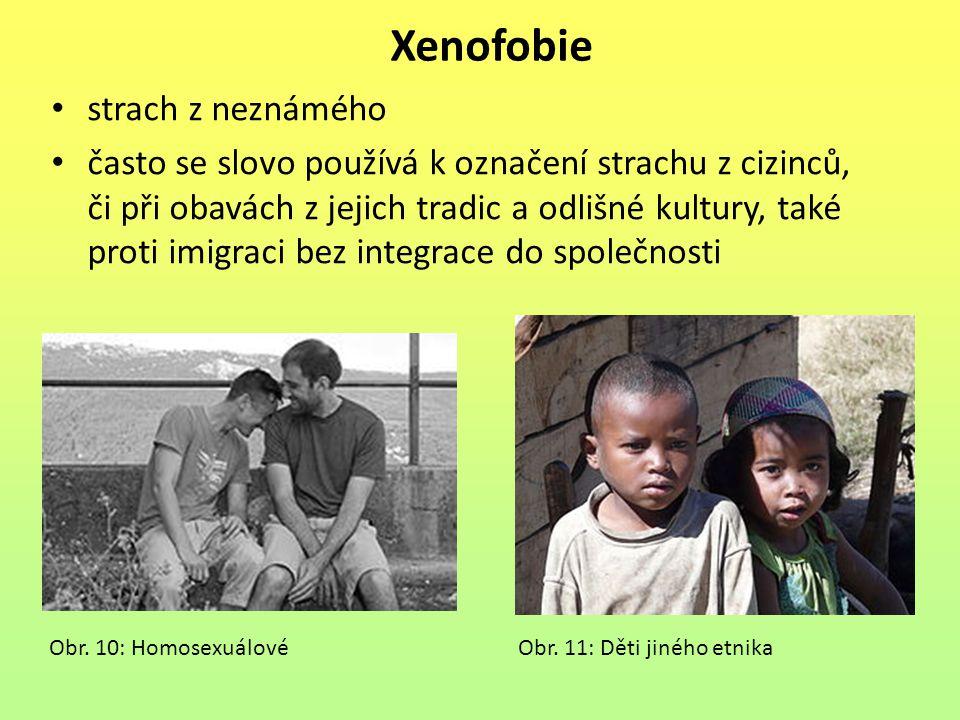 Xenofobie strach z neznámého