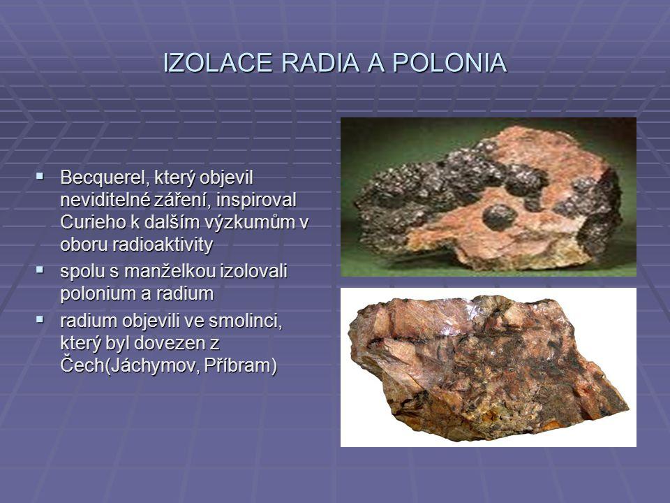 IZOLACE RADIA A POLONIA
