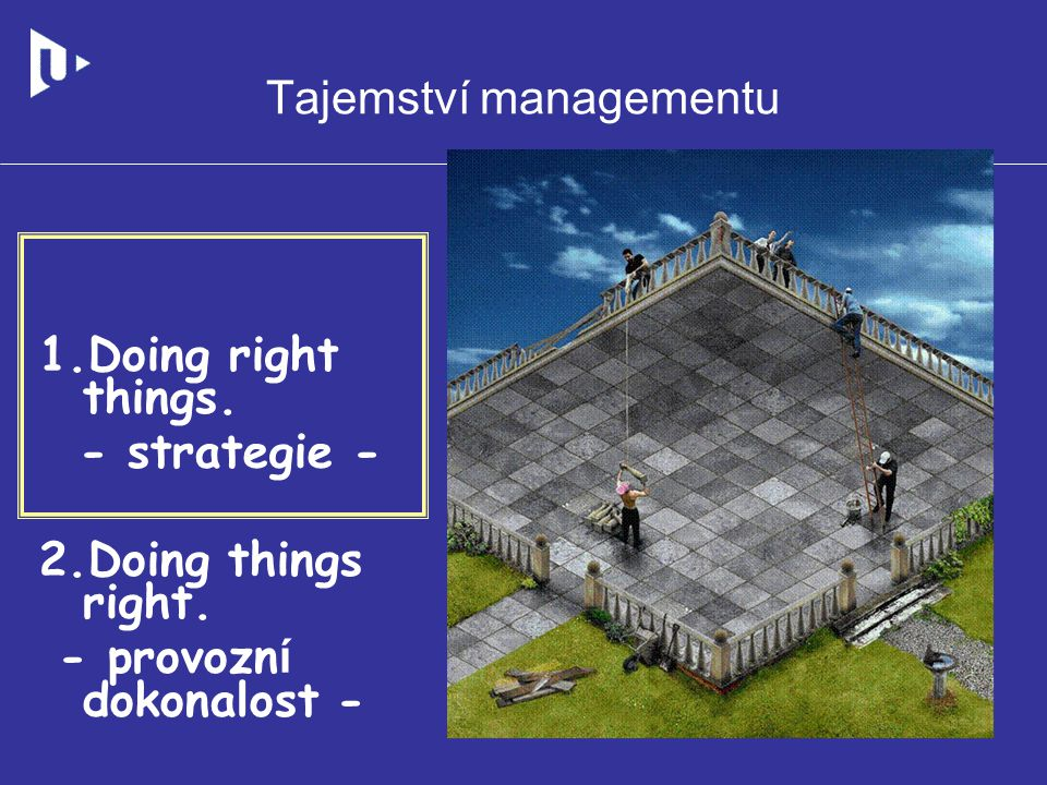 Tajemství managementu