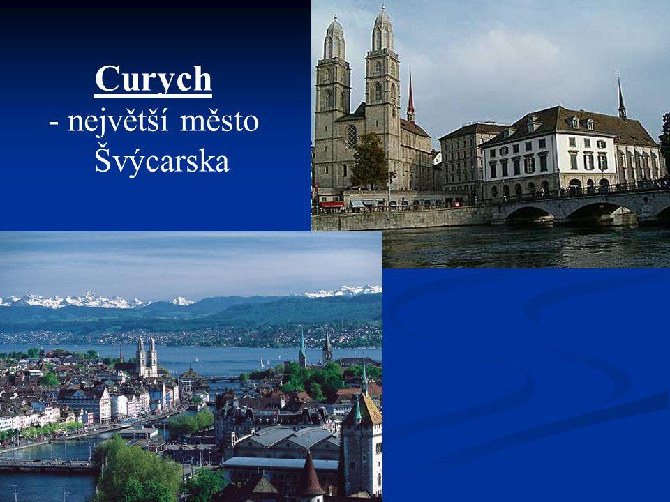 Curych největší město Švýcarska