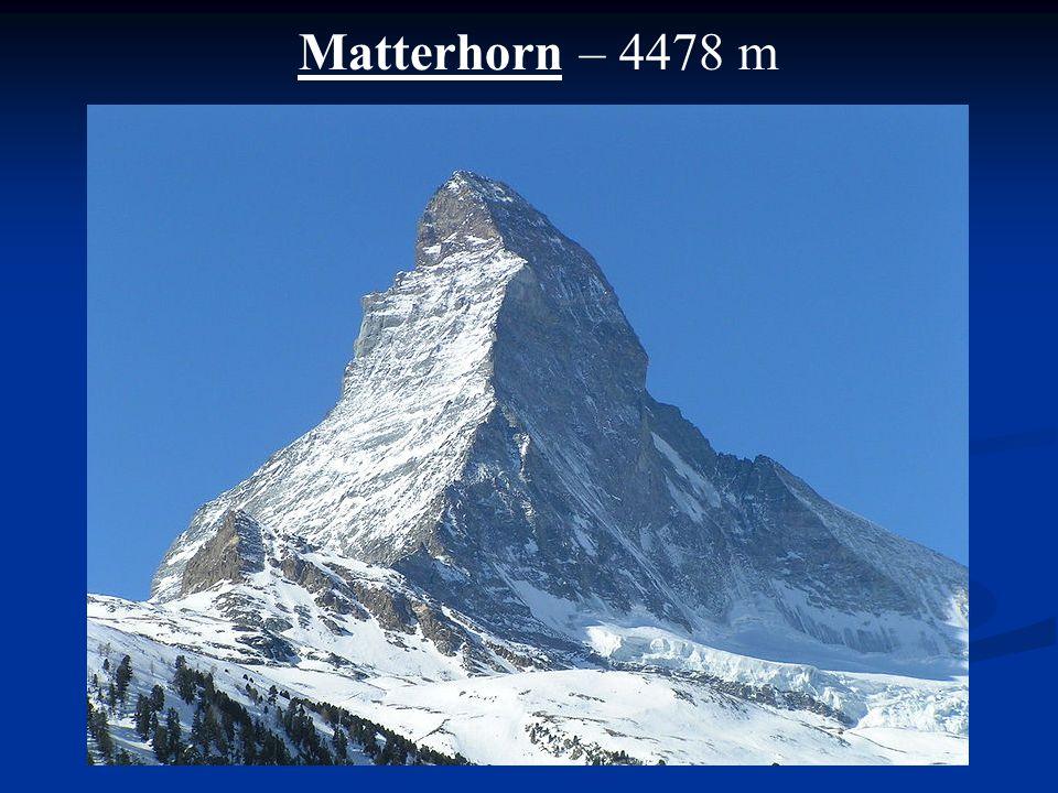 Matterhorn – 4478 m
