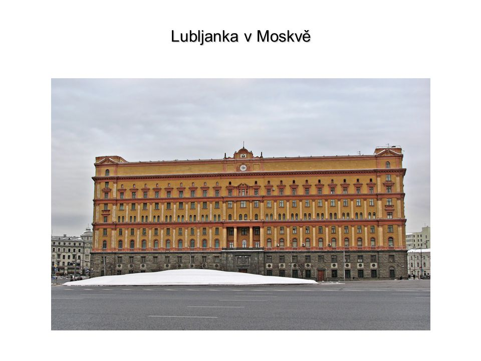 Lubljanka v Moskvě