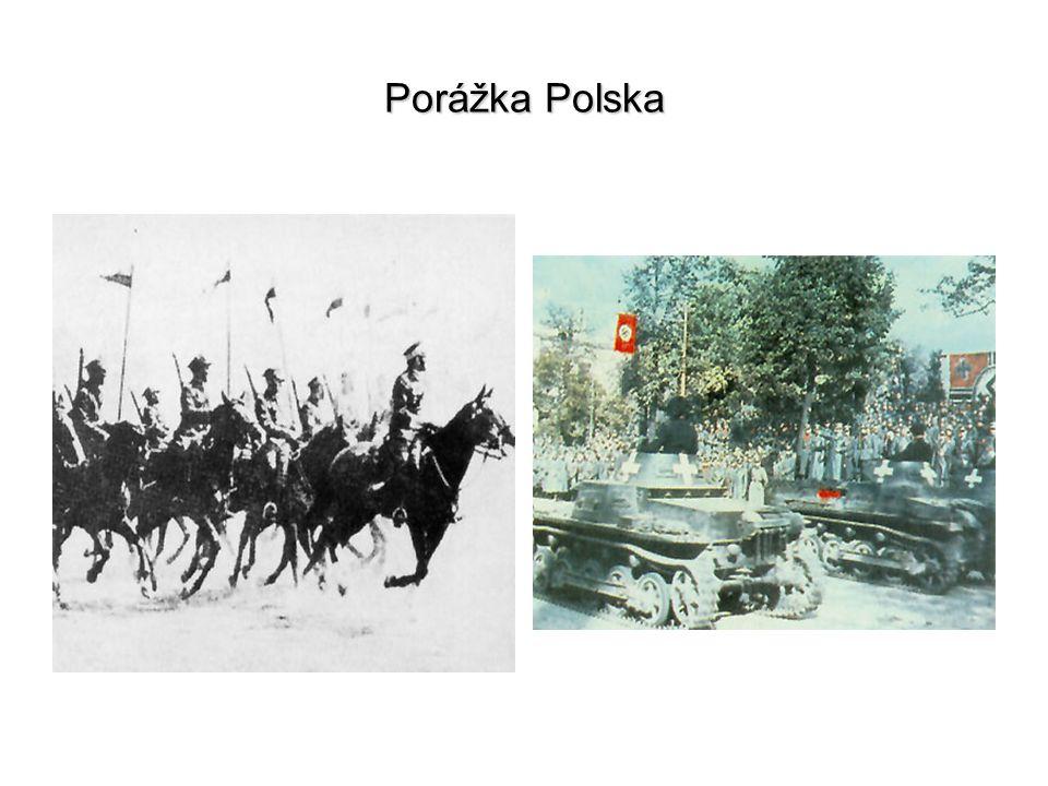 Porážka Polska