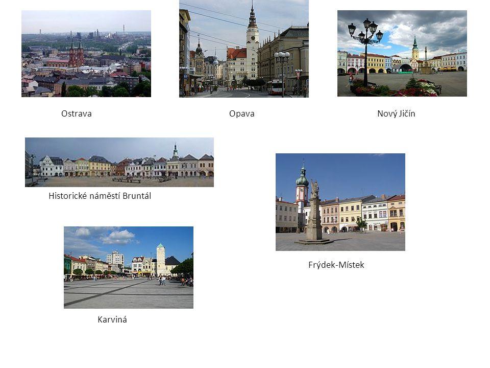 Ostrava Opava Nový Jičín