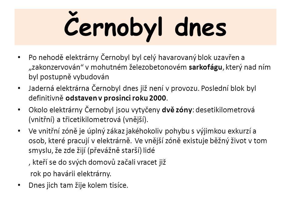 Černobyl dnes