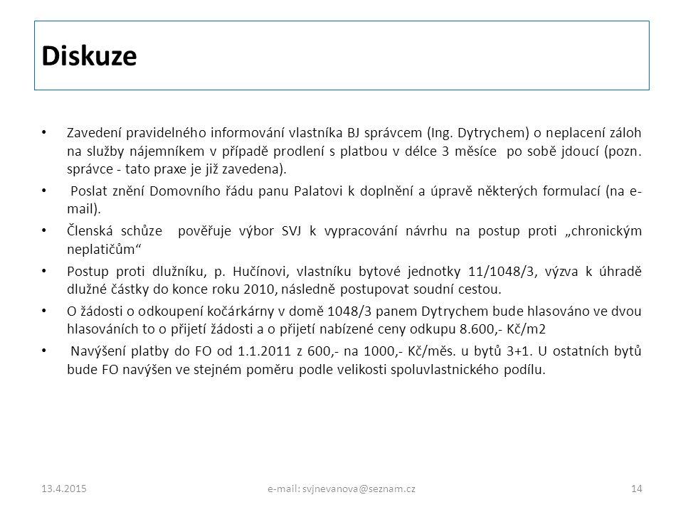 e-mail: svjnevanova@seznam.cz