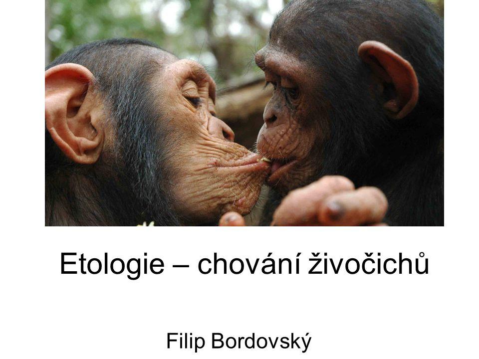 Etologie – chování živočichů