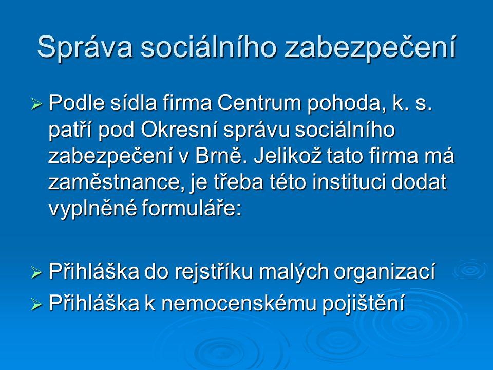 Správa sociálního zabezpečení