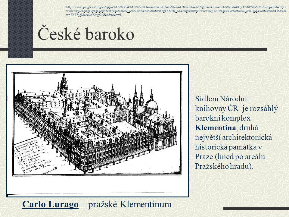 České baroko Carlo Lurago – pražské Klementinum