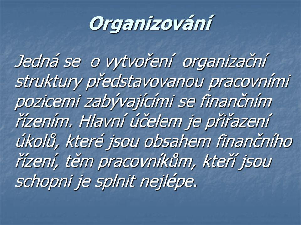 Organizování