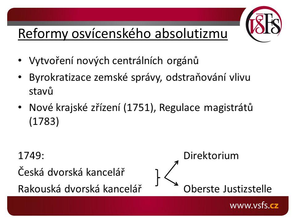 Reformy osvícenského absolutizmu