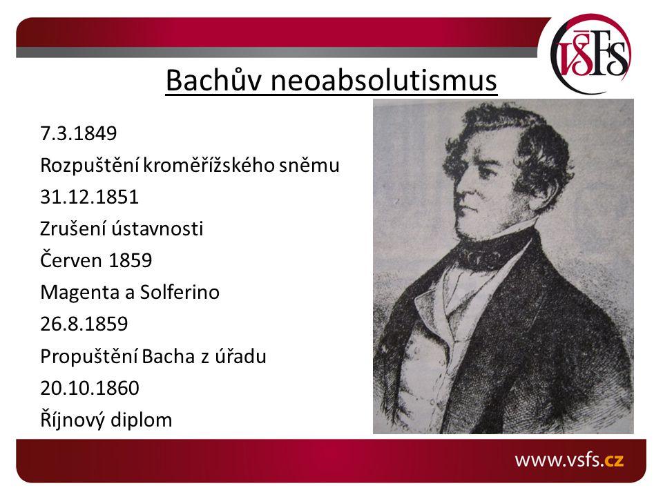 Bachův neoabsolutismus