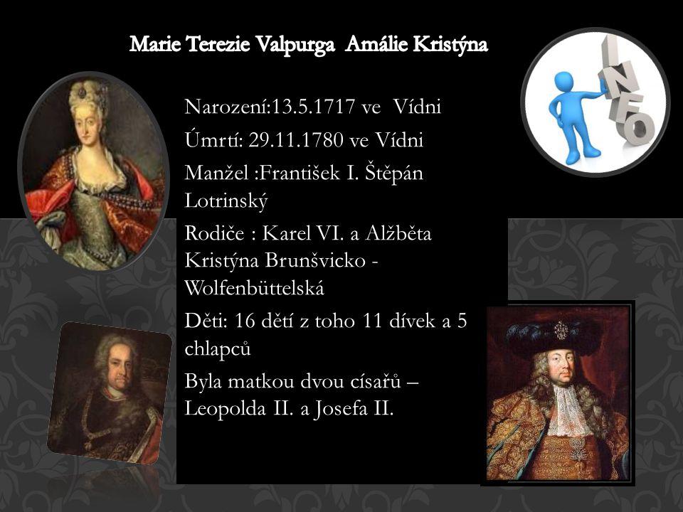 Marie Terezie Valpurga Amálie Kristýna
