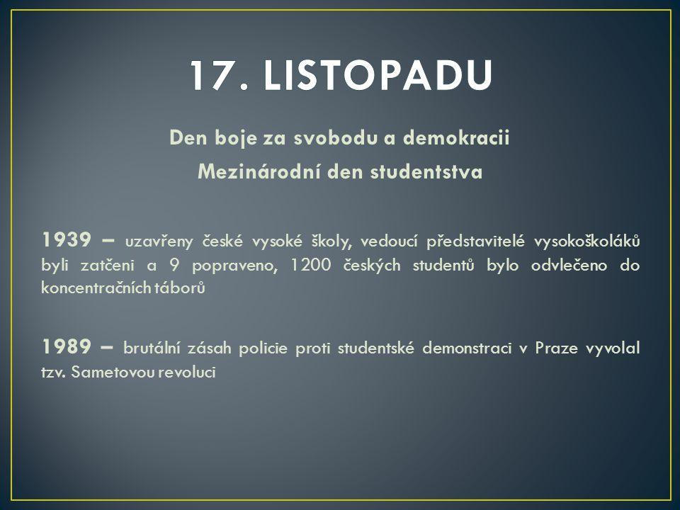 17. LISTOPADU