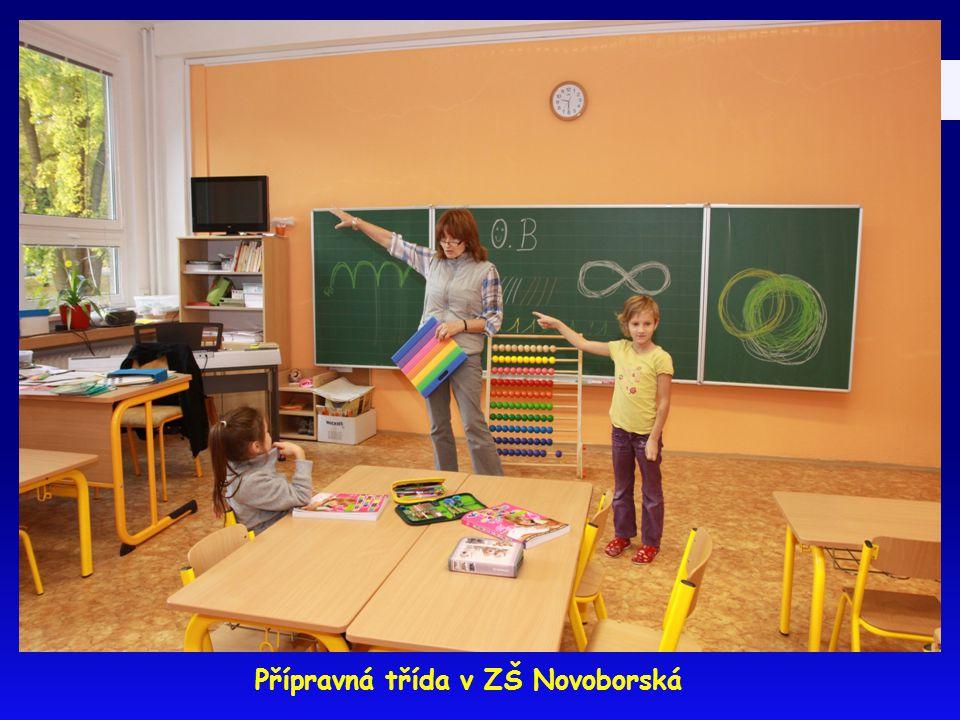 Přípravná třída v ZŠ Novoborská