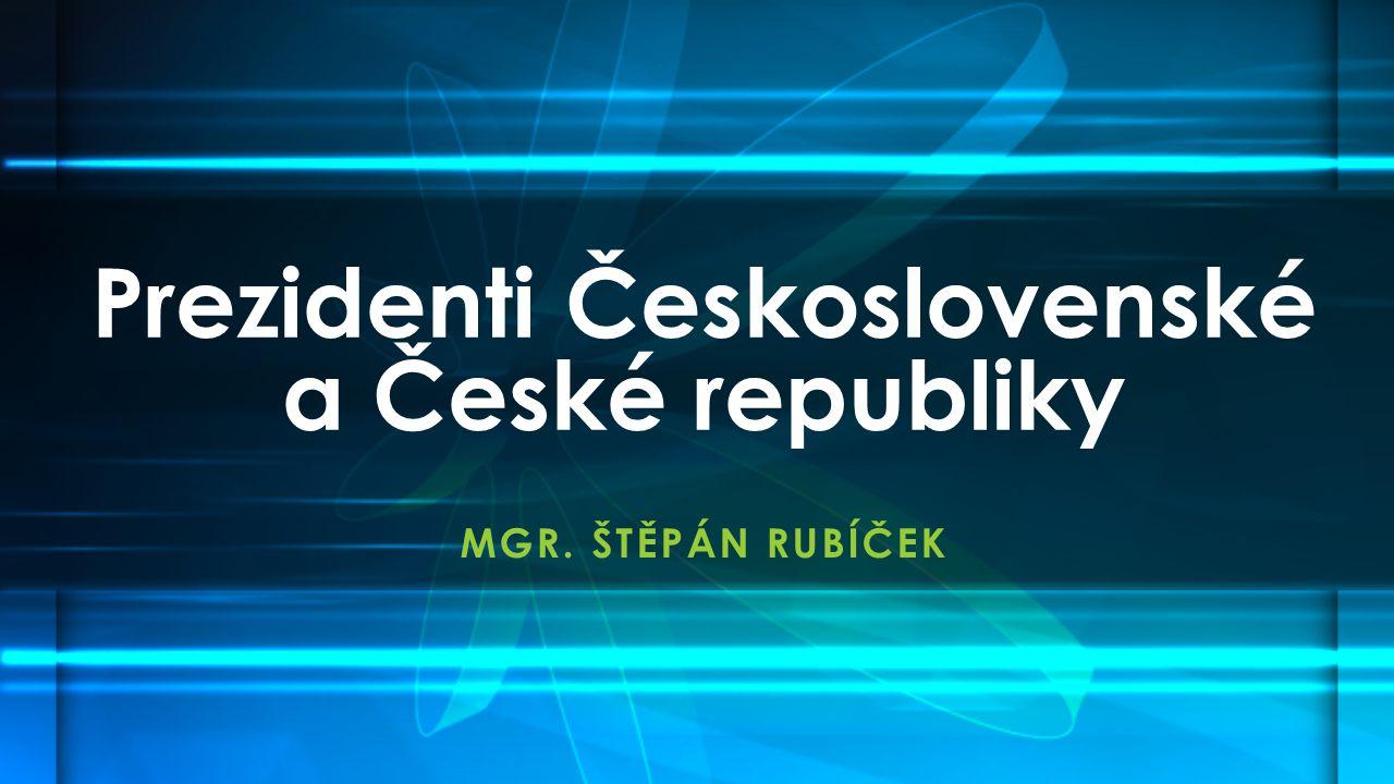 Prezidenti Československé a České republiky
