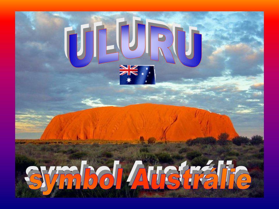 ULURU symbol Austrálie