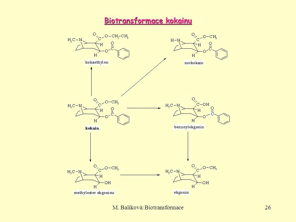 Biotransformace kokainu