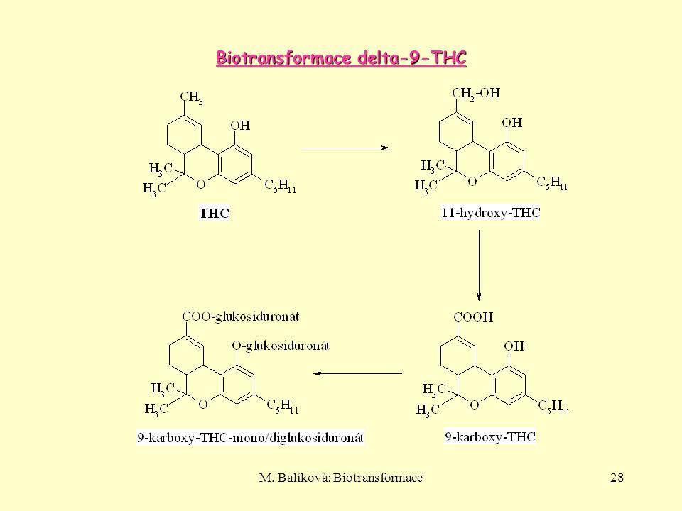 Biotransformace delta-9-THC