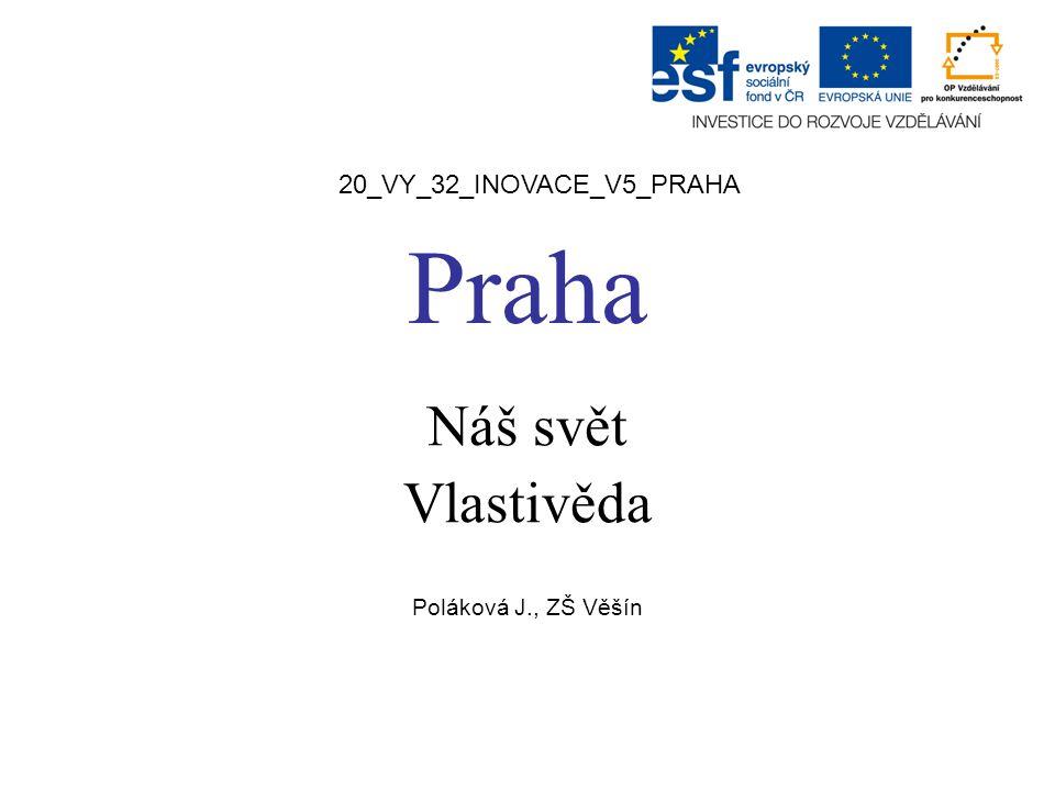 Náš svět Vlastivěda Poláková J., ZŠ Věšín
