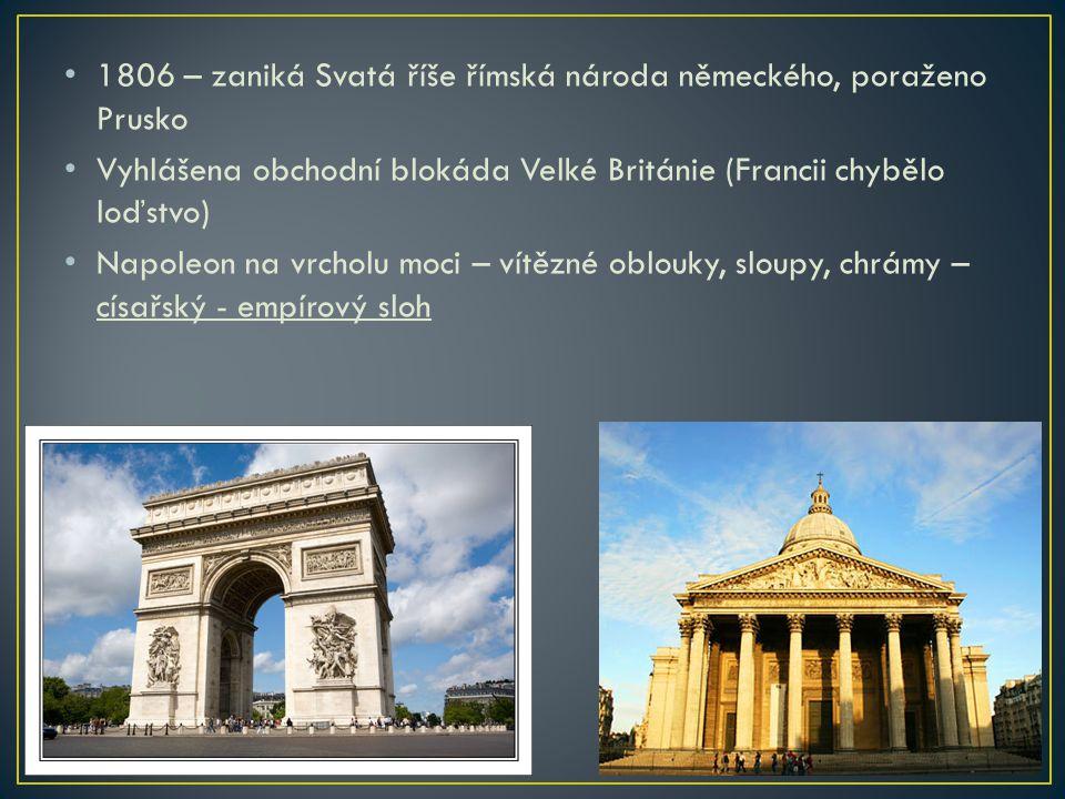 1806 – zaniká Svatá říše římská národa německého, poraženo Prusko