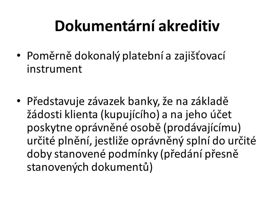 Dokumentární akreditiv