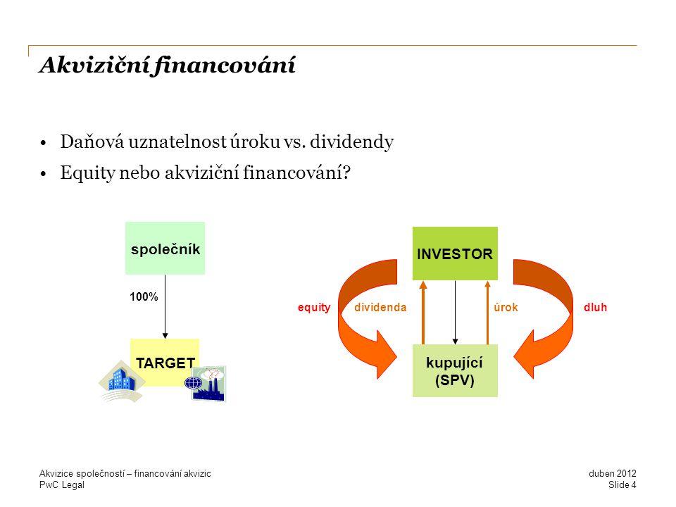 Akviziční financování