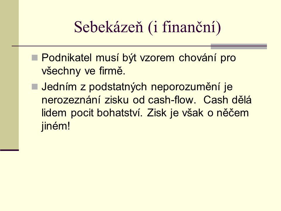 Sebekázeň (i finanční)